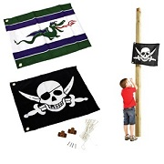Flag with Hoisting System